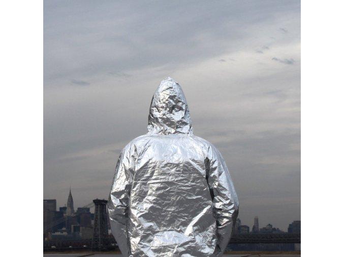 izotermicka termalni bunda folie foliova nouze prvni pomoc FinalFrontier EmergencyJacket BackView