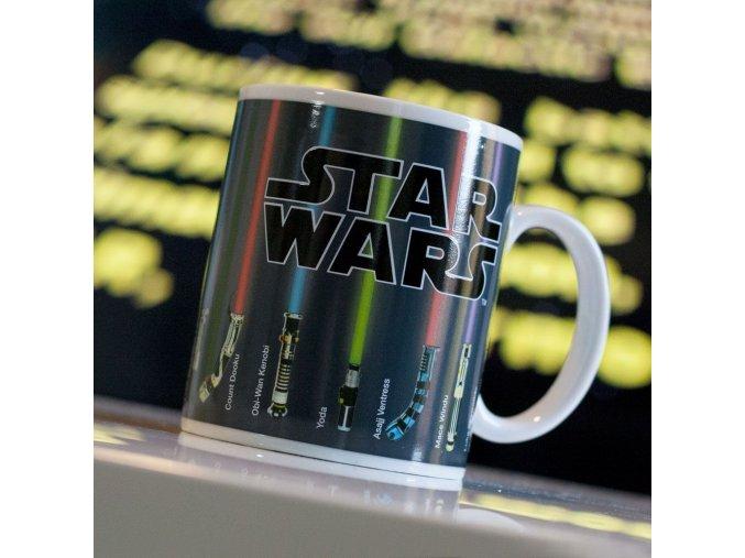 VÝPRODEJ:  Měnící hrnek Star Wars