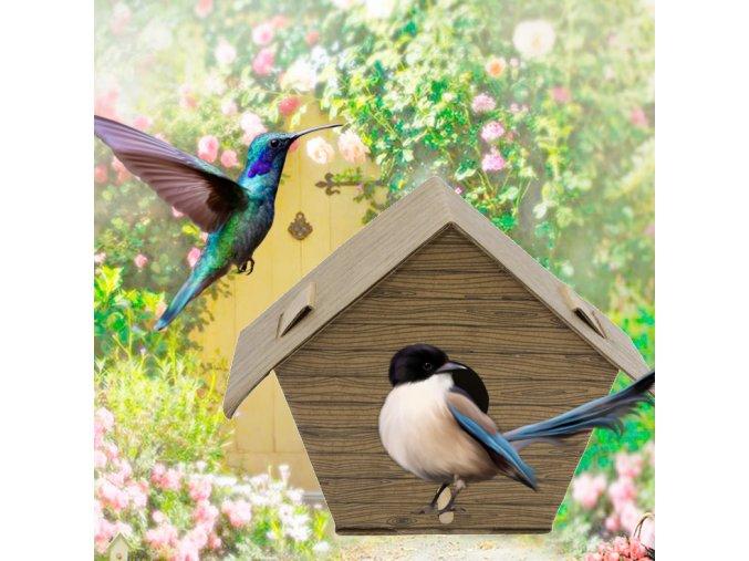 ptaci budka vyroba vyrob si sam diy domecek pro ptaky ptacky sykorky
