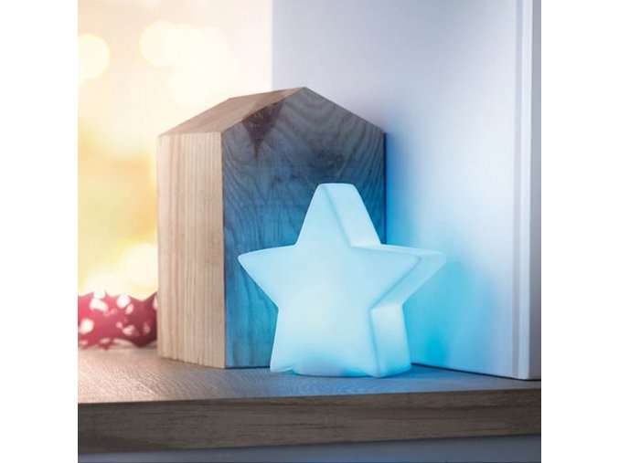 lampicka hvezda ve tvaru hvezdy vanocni svetylko do pokojicku pro deti