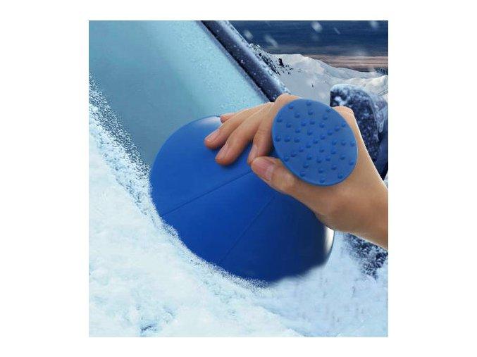 magicka skrabka na ledovku na led na okna na auto na sklo autosklo trychtyr 2v1