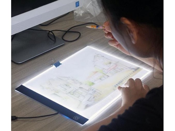 svitici deska na obkreslovani obrazku light draw a4 kresleni malovani pro deti darek hracka vzdelavaci pomucka interaktivni montessori