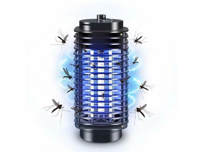 elektricky lapac hmyzu uv modre svetlo do elektriky zasuvky lampa na hmyz komary