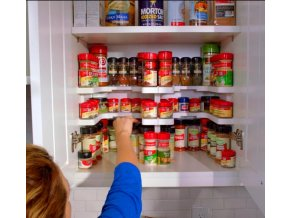 spicy shelf helps you organize and access your spice cabinet 0