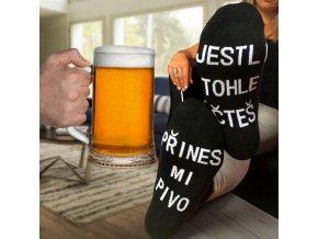 Ponožky pro pivaře i vinaře