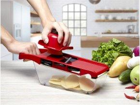 struhadlo 6 v 1 6v1 multifunkční struhadlo na zeleninu na brambory do kuchyně praktický dárek plátky ovoce zeleniny jablka mrkev dárek pro maminku praktický dárek dárek pro babičku k vánocům tipy na dárky
