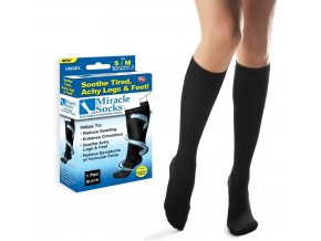 2 Pairs of Unisex Anti Fatigue Compression Socks 1 1