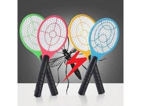 hmyzi paralyzer placaka elektricka tenisova raketa na komary mouchy na hmyz na leto elektricky lapac hmyzu