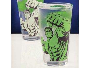 sklenicka marvel licence original darek komiks fanousky PP2987MA Hulk Colour Change Glass Lifestyle 800x800 800x800
