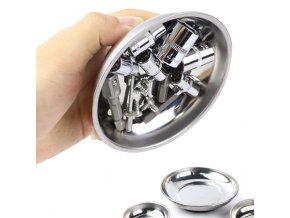 magneticka miska misticka na sroubky kovova miska na naradi opravu moto motorky drobne matikcy hrebiky