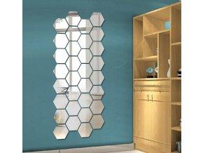 Zrcadlové nálepky na zeď