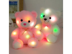 svítící plyšový medvídek hračka pro děti pro lepší usínání a spánek skladem brno vašenebe eshop vaše nebe