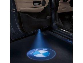 auto led logo projektor svetylko svetlo na zem tunning ford hyundai skoda škoda mercedes benz volkswagen vw bmw audi skladem v cesku levne