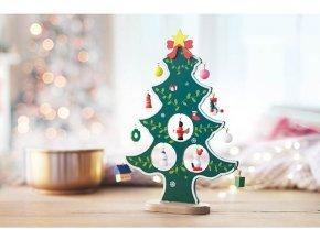 dřevěný vánoční stromeček stromek strom vánoce na vánoce umělý stromeček 1175044 CX1278 09 2