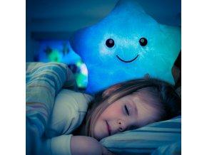 pillow led star light kids holcicka hvezdicka svitici polstarek hvezdicka pro lepsi usinani pro deti spanek darek