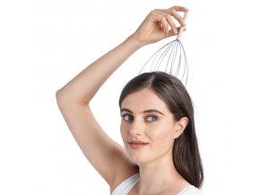 masáž hlavy masaz drbatko na hlavu masirovani vlasove pokozky vlasova pokozka