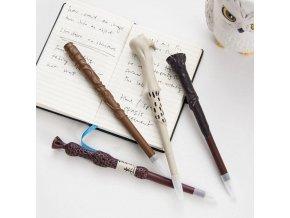tip na dárek Propiska ve tvaru kouzelnických hůlek Harryho, Hermiony, Brumbála či Voldemorta. Oficiální licencovaný produkt doveze z Anglie pro fanoušky harryho pottera brno skladem levně harry potter propiska tuzka wand pero
