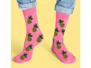 ananas ponožky1