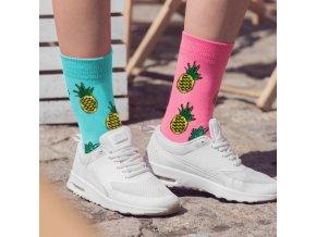 ananas ponožky3