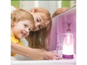 Svítící dávkovač mýdla Soap Brite