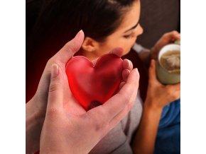 srdicko do kapsy nahrivaci znovu pouzitelny opakovane pouziti heart love heat hrejivy hrejive laska darek malickost
