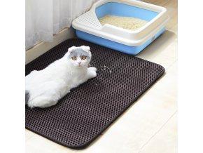 podložka pod kočičí toaletu kočičí toaleta záchod koberec pro kočky kitty litter kočkolit