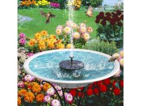 plovouci fontana solarni panel voda vodni jezirko zahradni pro ryby vodotrysk vodni mlha osvezeni do bazenu pitko pro ptaky dekorace zahrady darek prakticky pro kutily