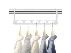 multifunkční držák na ramínka  ramínko, držák do šatníku na oblečení