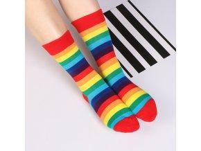 lgbt pride darek pro muze pro zeny vanoce gay svatba rozlučka ženich k obleku  0044601 duhove ponozky