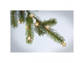 světelný led řetěz na stromeček světýlka na stromek vánoční hvězdičky, 20LED skladem online nákup eshop čr 1202532 CX1462 40 E