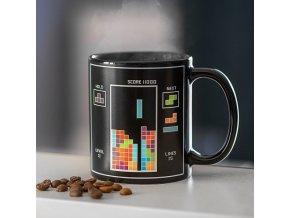 hrnek tetris mug pro fanoušky hráče k narozeninám vánocům vtipný herní hrnek dárek tip na dárek pro kluky partnera holky gamermughug