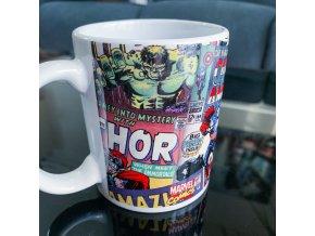 hrnek marvel hulk thor kapitan amerika iron man darek pro fanousky na vanoce a narozeniny
