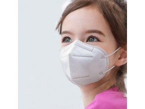 dětské respirátory ffp2 ffp3 kn95 ochranné masky obličejové polomasky detske respiratory rousky skladem levne v cr cesku