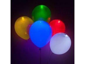 led svitici balonky na vzduch helium led balonky party oslava narozenin narozeniny svitici balonek led light balloon