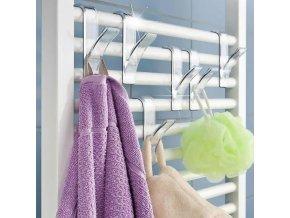 zavesny hacek do koupelny 2 ks na topeni radiator susak hacky rucniky do koupelny na zebrikove topeni