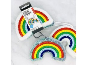 rainbow sponges kikerland kikkerland houbicka dratenka na nadobi duha s duhou duhova lgbt darek gay lesba
