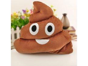 polštář polštářek hovínko hovno emoji poop pillow skladem online nákup eshop brno vtipný dárek pro kamarádku kamaráda kámoše kámošku bráchu ségru na vánoce