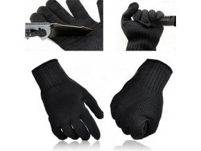 specialni ochranne rukavice neznicitelne proti porezani ze specialniho vlakna