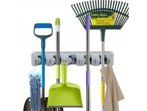 best wall mounted mop and broom holders reviews mop and broom holder l e88b41e8d9cae5ca