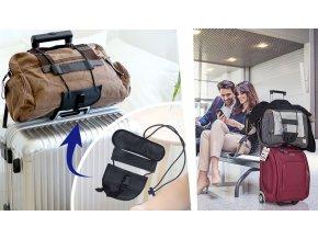 Pomůcka pro uchycení zavazadla