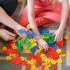 vločková stavebnice pro deti vzdelavaci hracka rozvoj jemne motoriky nauka uceni barev pocitani