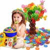 vločková stavebnice pro deti vzdelavaci hracka rozvoj jemne motoriky nauka uceni barev pocitani 0028624 vlockova stavebnice 500 ks