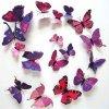 3D motýlci na zeď