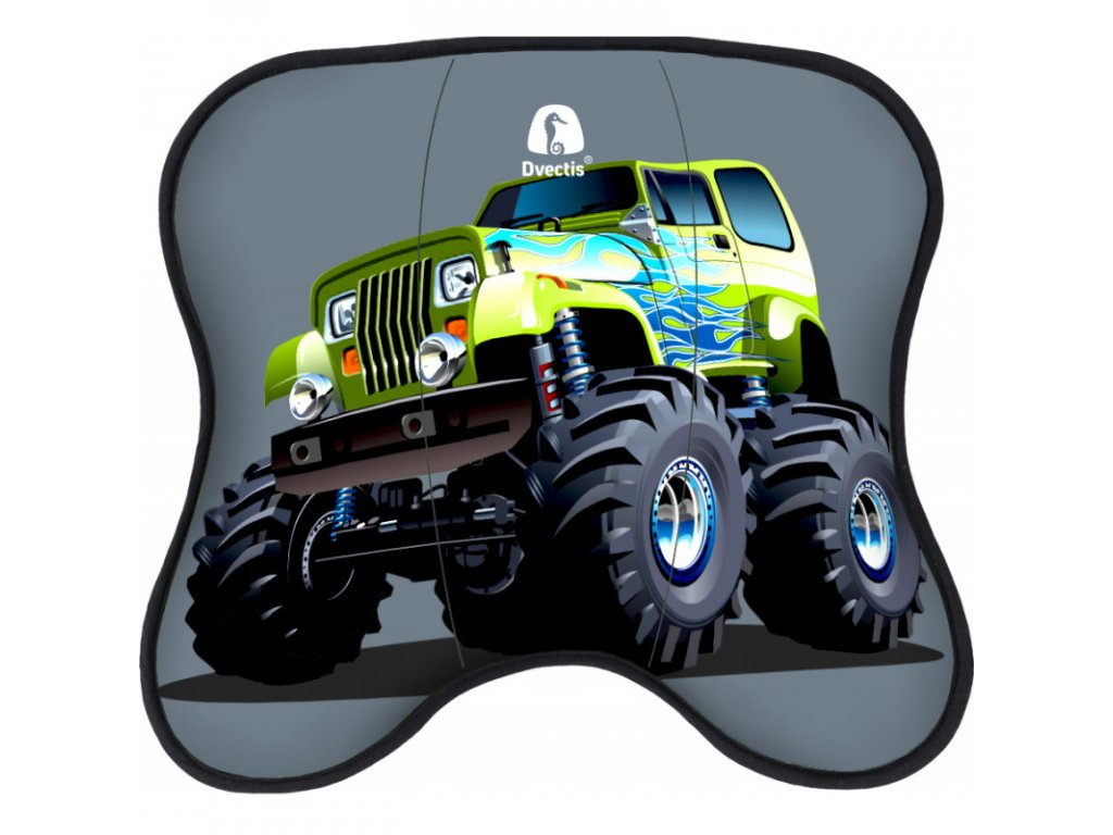 dynamicko smerova podlozka dvectis single kids monster truck