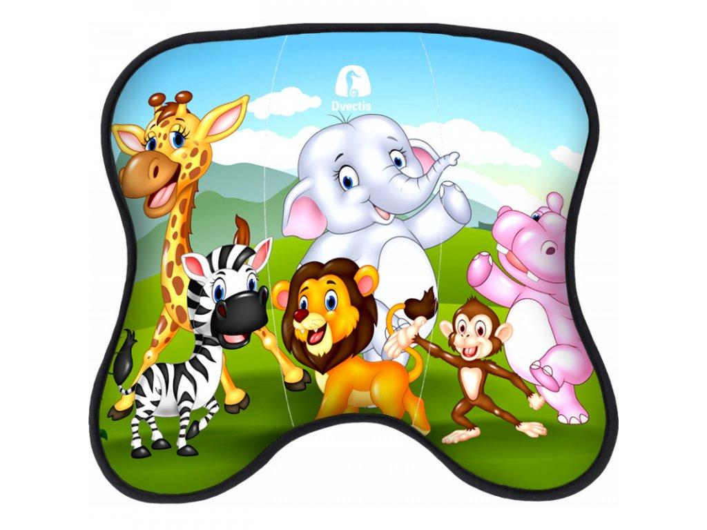 1566 dynamicko smerova podlozka dvectis double kids zoo
