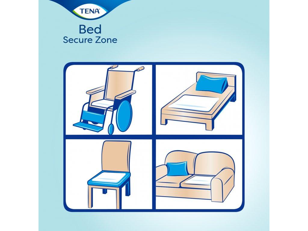 Tena Bed Plus 60x90 cm 30 ks