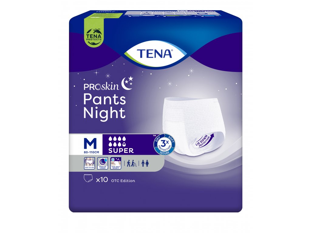 879 tena pants night super m 10 ks