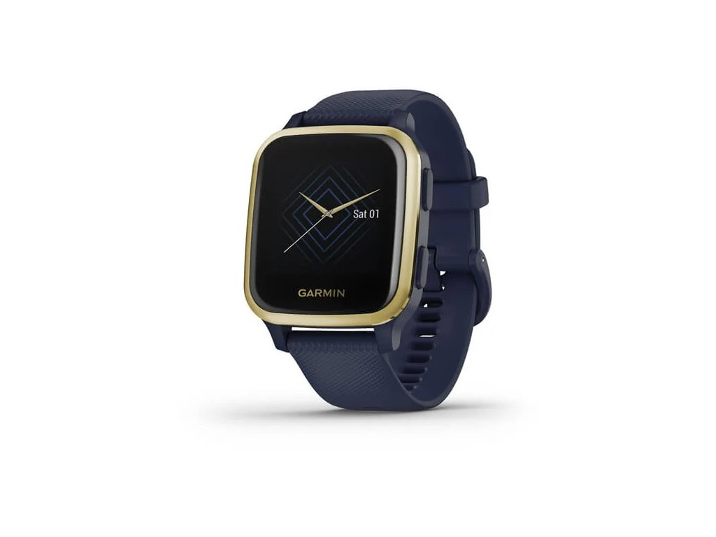 288 garmin venu sq music lightgold blue band