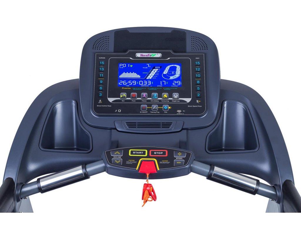 Běžecký pás HOUSEFIT SPIRO 40 iRun  + Servis u zákazníka a prodloužená záruka + Podložka pod trenažer ZDARMA