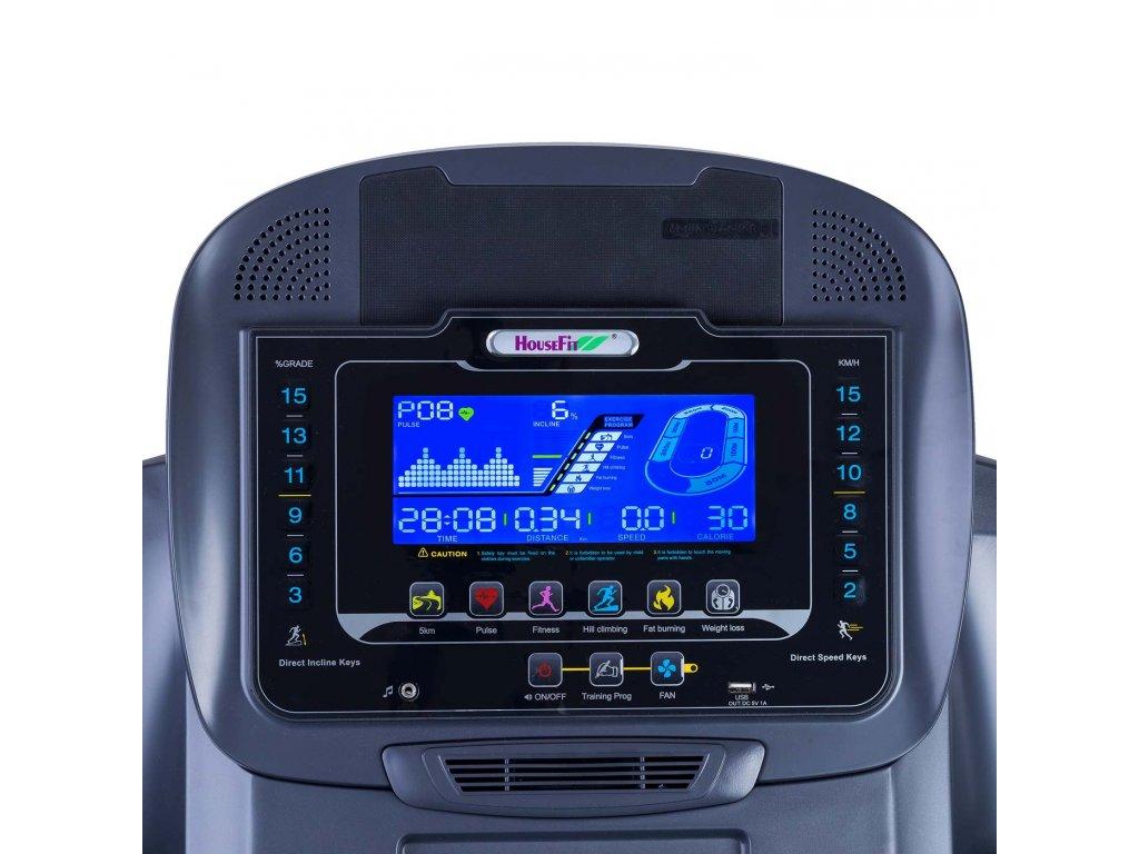 Běžecký pás HOUSEFIT SPIRO 80 iRun  + Servis u zákazníka a prodloužená záruka + Dárek